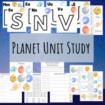 Planet Unit Study