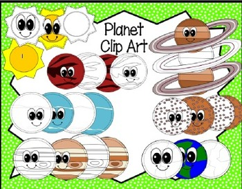 Planet and Space Clip Art