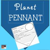 Planet pennant Freebie