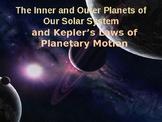 Planetary Motion and The Inner Planets Complete Lesson