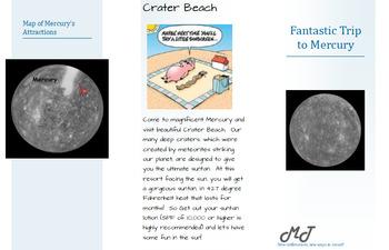 Planetary Travel Brochure