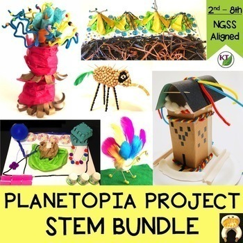 Planetopia Project STEM Challenge Bundle