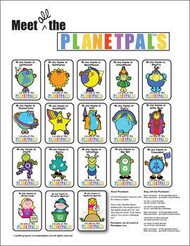 Meet The Planetpals POSTER