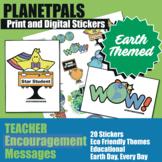 Teachers Stickers Clip Art Achievements Eco Friendly Earth