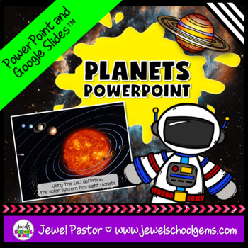 Planets Activities (Planets PowerPoint)