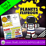 Planets Activities (Solar System Flipbook)