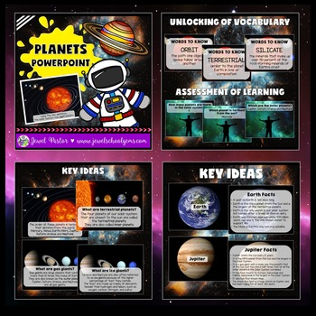 Planets Activities BUNDLE (PowerPoint and Flipbook)