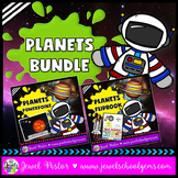 Planets Activities BUNDLE (Planets PowerPoint and Planets