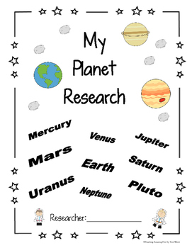 Planets  NO PREP Research packet