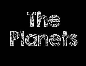 Planet Posters FREE
