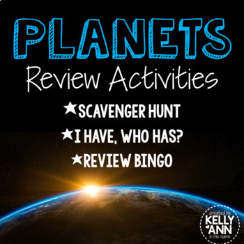 Planets of the Solar System Activities (3) Bundle