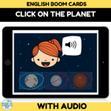 Planets Boom Cards with Audio for Distance Learning