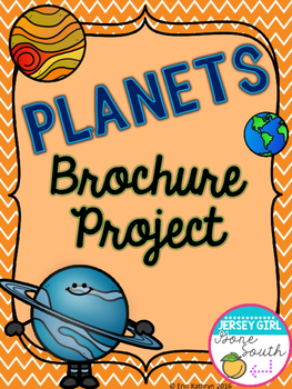 Planets Brochure Project Activity