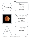 Planets Cards ~ Group Name, Picture, Order, & 3 Facts for