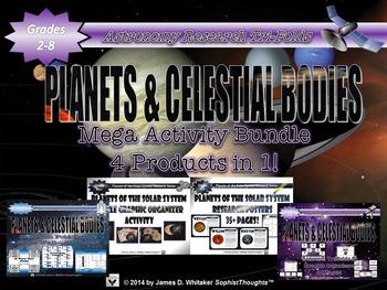Planets & Celestial Bodies of the Solar System Mega Activi