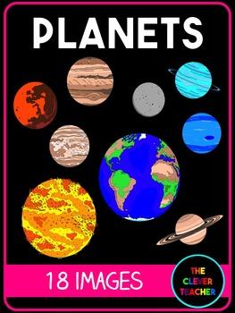 Planets Clip Art FREE
