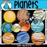 Planets Clip Art Set - Chirp Graphics