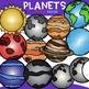Planets Clip Art-  {jen hart Clip Art}