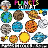 Planets Clipart {Space Clipart}