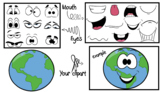 Planets- Cliparts Creator Kit- For Personal or Commercial use