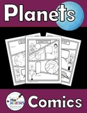 Planets Comics - Non-Fiction Writing Activity