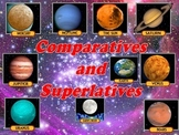 Planets (Comparatives and superlatives of adjectives)