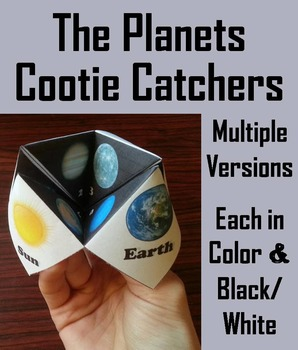 The Planets Activity (Solar System/ Space Science/ Astronomy Unit)