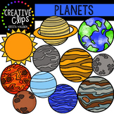 Planets {Creative Clips Digital Clipart}