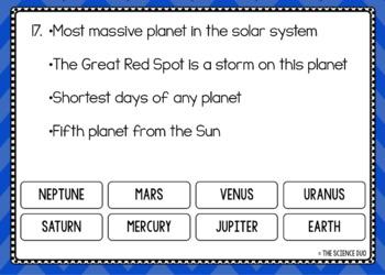 Planets - Digital Boom Cards™ Sort