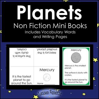 Planets Non Fiction Mini Books
