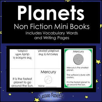 Planets Non Fiction Mini Books