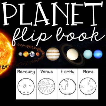 Planets Flip Book