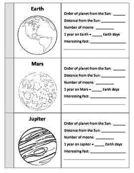 Planets Flipbook