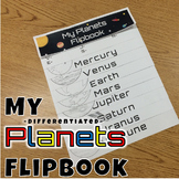 Planets Flipbook *Differentiated*