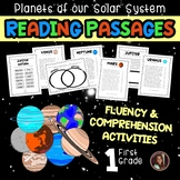 Planets Fluency & Comprehension Reading Intervention {Grade 1}