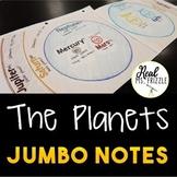 FREE! Planets JUMBO Notes