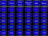 Planets Jeopardy Review Game