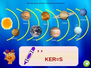 Planets, Math and Quizzes