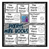 Planets Mini Books:  Set of 9 Emergent Readers