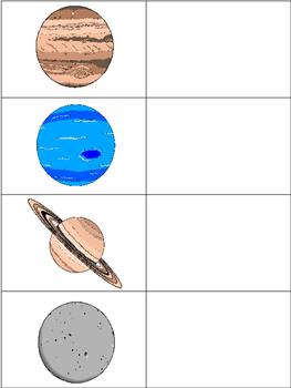 Planets Poster Set & File Folder Activity!