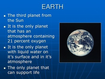 Solar System: Planets PowerPoint Presentation