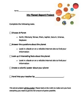 Planets Project