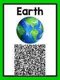 Planets QR Code Posters - Planets Scavenger Hunt Sheet