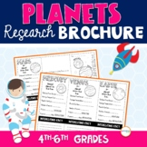 Planets Research Brochure