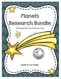 Planets Research Bundle