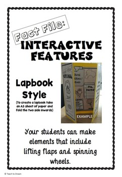 Planets Research Project: Interactive Lapbook