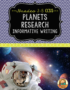 Planets Research Report: Multi-Draft Informative Writing for Grades 3-5 (CCSS)