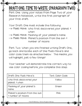 Grades 3-5 How to Write a Paragraph