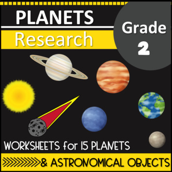Planets Research Second Grade