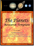 Planets: Research Template EDITABLE